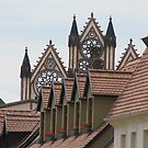 Rooftops of Tangermünde by orko