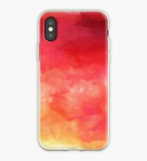 Abstract Watercolor Gradient iPhone Case