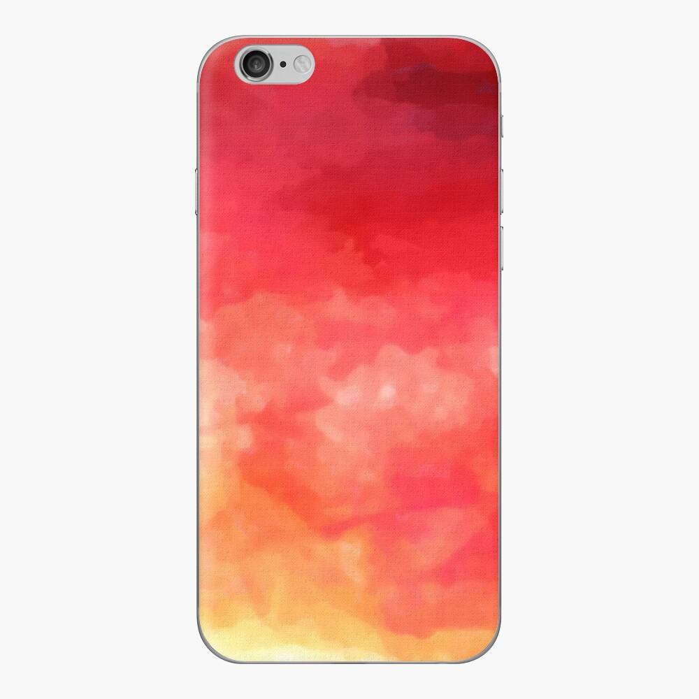 Abstract Watercolor Gradient iPhone Skin