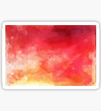 Abstract Watercolor Gradient Sticker