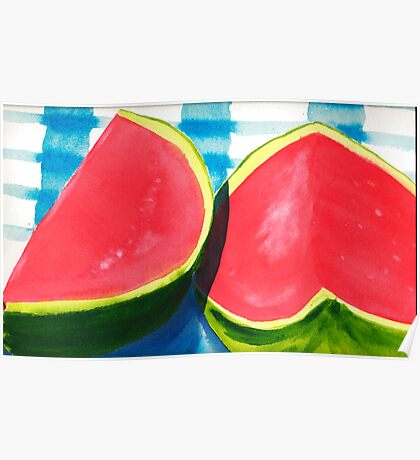 Watermelon Daze Poster