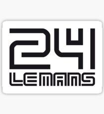 LE MANS Sticker