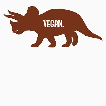Triceratops Love Veggies by monkeyminion
