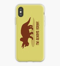 Triceratops is Always Horny. iPhone-Hülle & Cover