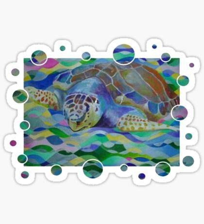 Loggerhead Turtle Sticker
