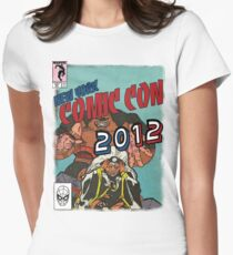 Comic Con 2012 Shirt Womens Fitted T-Shirt