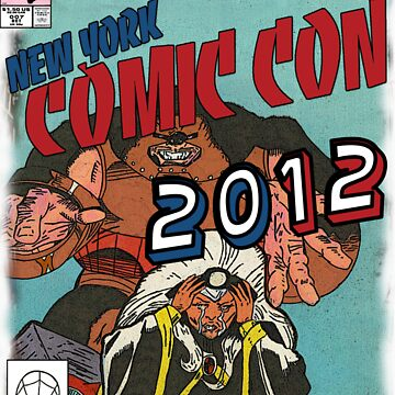 Comic Con 2012 Shirt by ibukimasta
