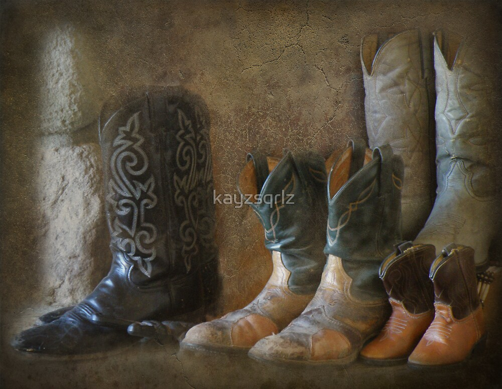 Retired Boots by kayzsqrlz