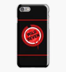 Wild Seven iPhone Case/Skin