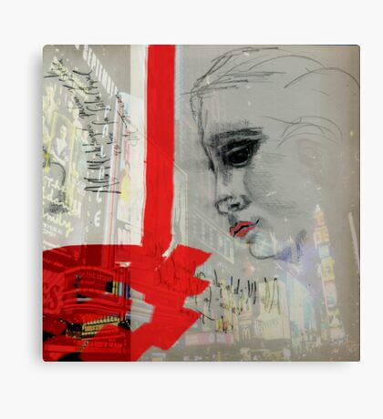 Sybil in New York Canvas Print
