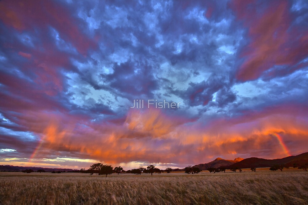 Rainbow on Fire by Jill Fisher