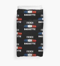 French Baguette Flag Patriotic  Duvet Cover