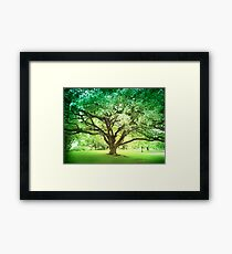 Emerald Retreat Framed Print