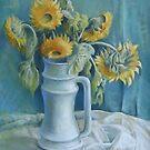 Sunflowers by Elena Oleniuc