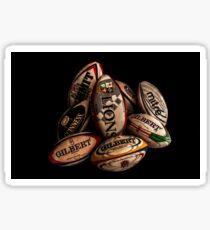 Rugby Balls Sticker