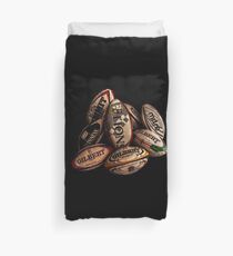 Rugby Balls Duvet Cover