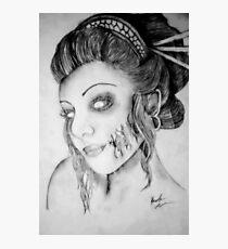 Beautiful Zombie Photographic Print