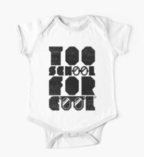 Too School For Cool (Black) Kids Clothes