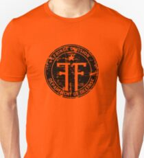 Fringe Division (dark print and stickers) Unisex T-Shirt