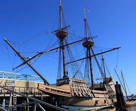 Mayflower sailing ship photography by Vitaliy Gonikman