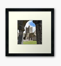 Jerpoint Abbey Framed Print
