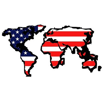 The New Empire (USA world map) by f451