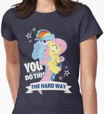 The Hard Way - Fluttershy & Rainbow Dash T-Shirt