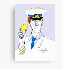 The Lemon has been found. Canvas Print