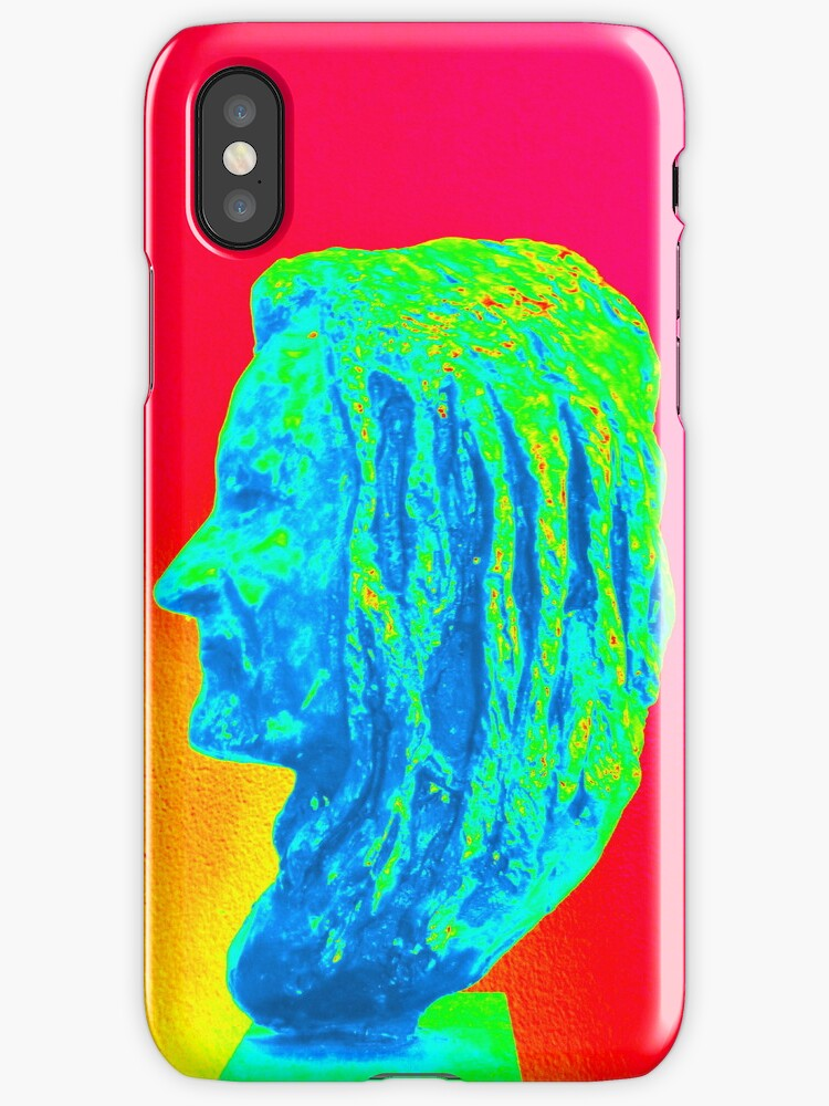 Bust iPhone Case by Fara