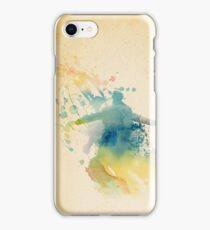 Sherlock Watercolor  iPhone Case/Skin