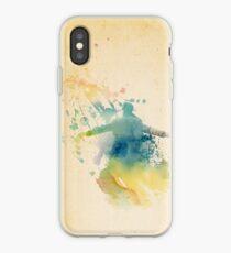 Sherlock Watercolor  iPhone Case