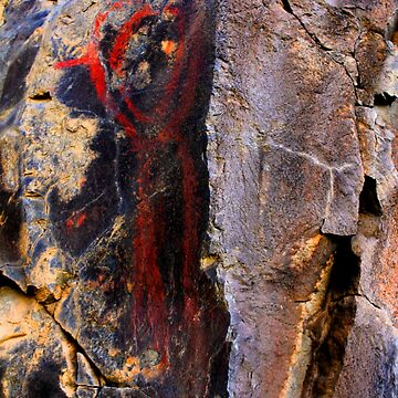 Ancient Central Oregon Andropomorph by fnature