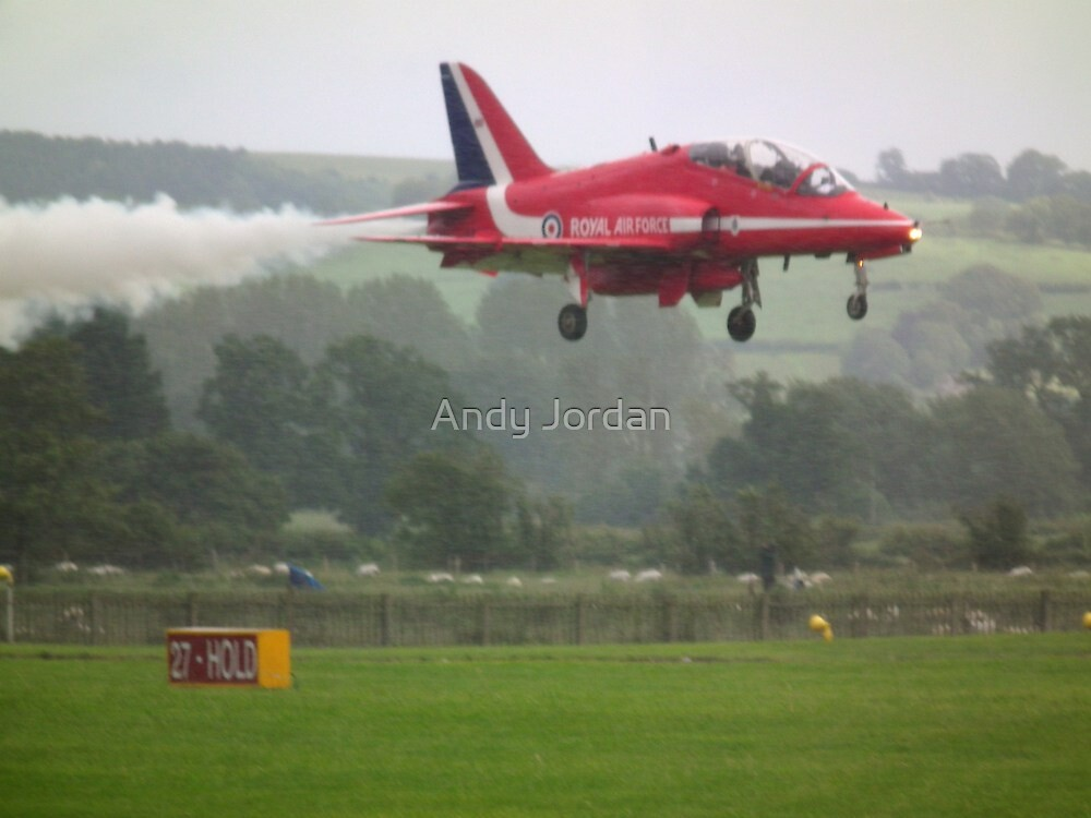 Red One Landing by Andy Jordan