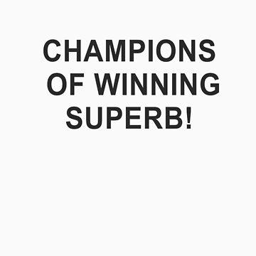 Champions of winning superb! by michaelhavart