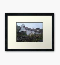 Thatched Cottage Framed Print