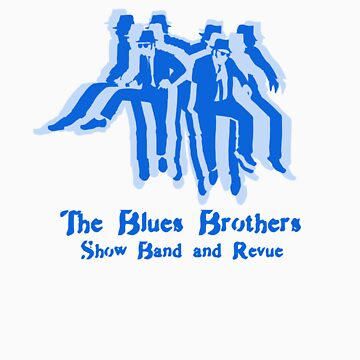 The Blues Brothers Dancing Silhouettes Shirt by guiltycubicle
