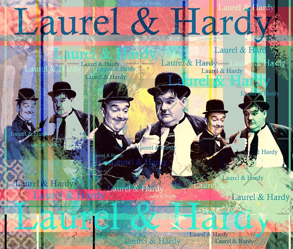 Laurel und Hardy von Mauswohn