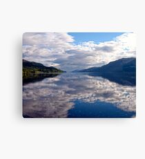 """Loch Ness"", Scotland Canvas Print"
