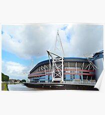 The Millennium Stadium, Cardiff Poster