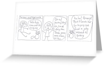 The Comic What Kipper Wrote by Tummytickle