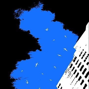 The Battleground Is Everywhere (blue, no text) by f451