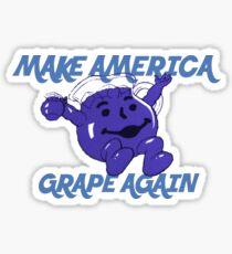Make America Grape Again Sticker