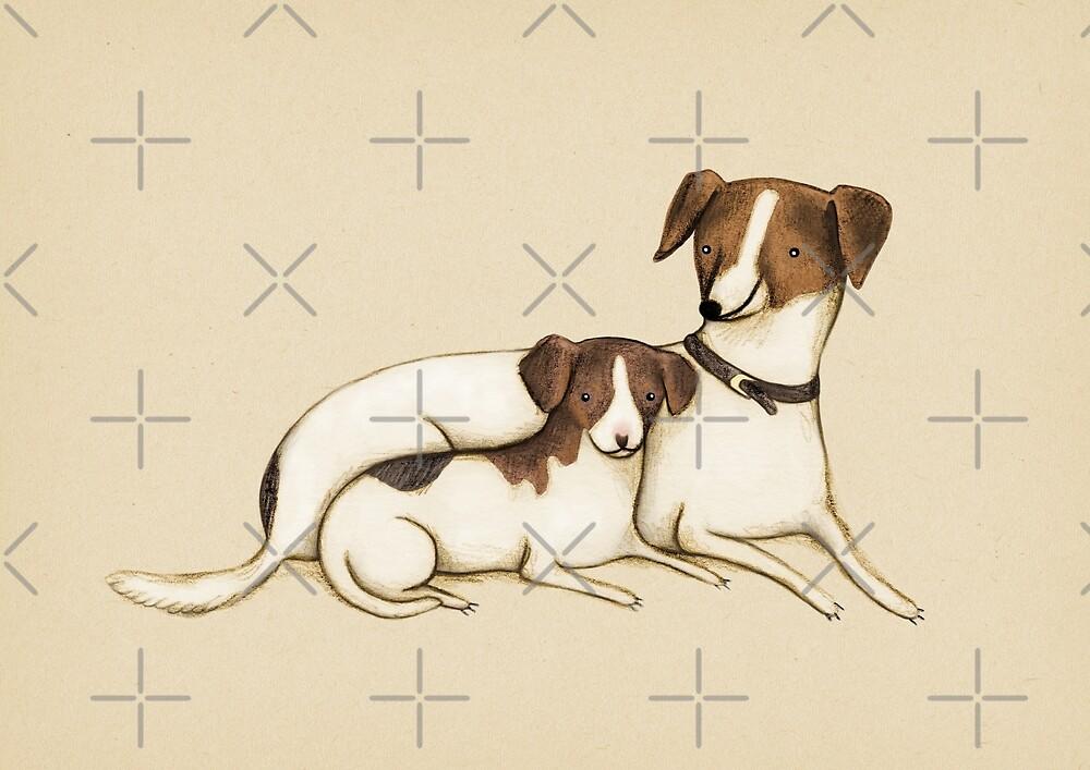 Jack Russels by Sophie Corrigan