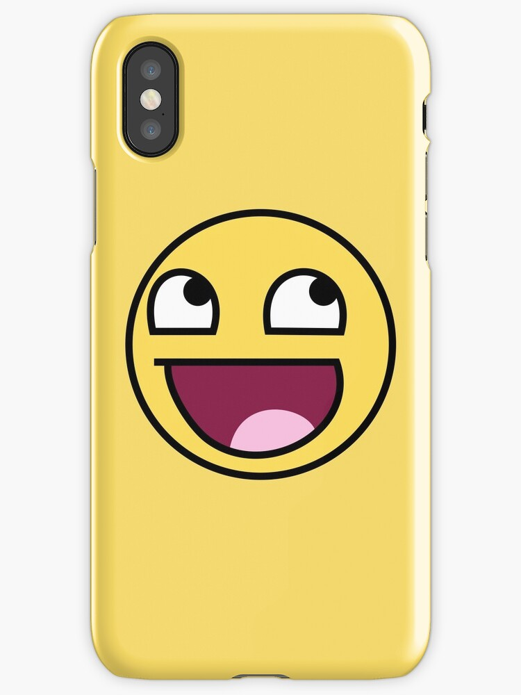 original lol gesicht emoji iphone h llen cover von winkham redbubble. Black Bedroom Furniture Sets. Home Design Ideas