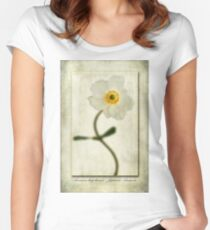 Japanese Anemone Women's Fitted Scoop T-Shirt