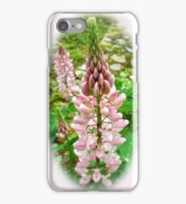 Pink Lupin Flowers iPhone Case/Skin