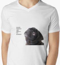 Good things black pug T-Shirt
