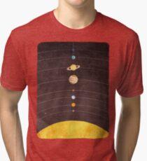 Sonnensystem Vintage T-Shirt