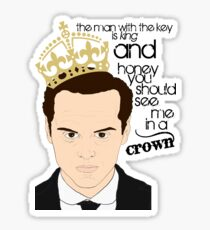You should see Moriarty in a crown Sticker