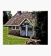 BlackSmith's Shop, Ringwood Manor, Ringwood NJ Photographic Print